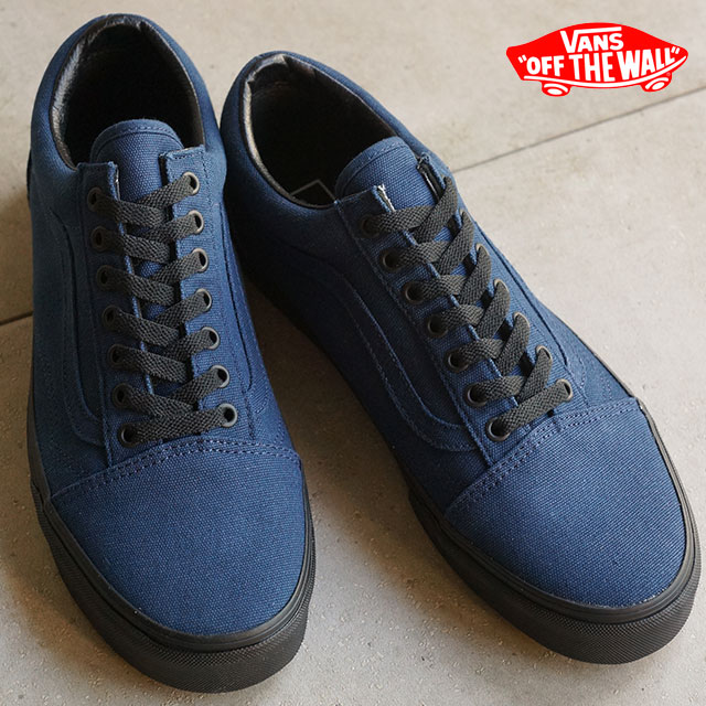 6987d5b7d641 VANS vans sneakers men gap Dis CLASSICS OLD SKOOL old school (BLACK SOLE)  DRESS BLUES (VN-03Z6HXO FW15) shoetime