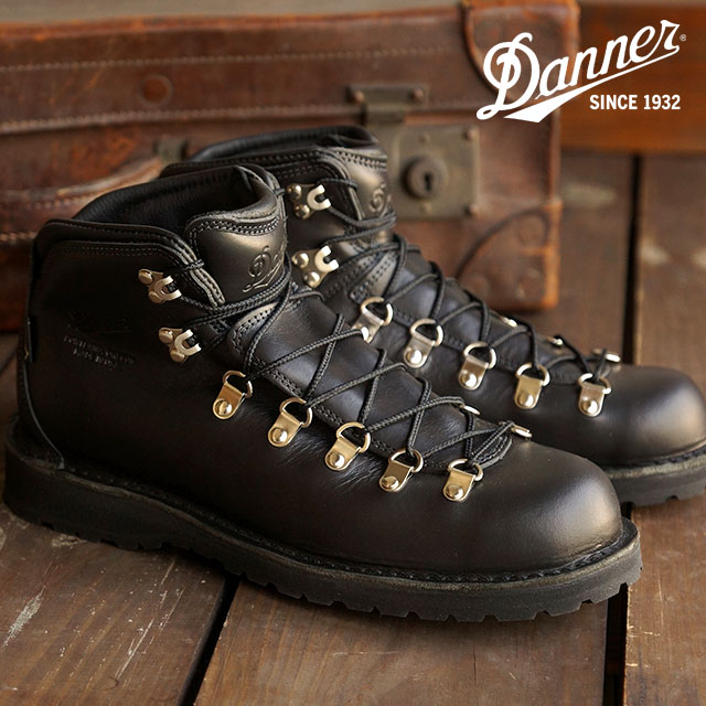 DANNER Danner boots Mountain boots mens MOUNTAIN PASS mountain path BLACK  GLACE (33275 FW15)