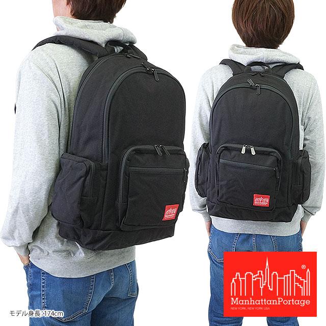 【即納】Manhattan Portage マンハッタンポーテージ バッグ バックパック リュック BDWY Backpack BLACK(MP1273) shoetime【コンビニ受取対応商品】