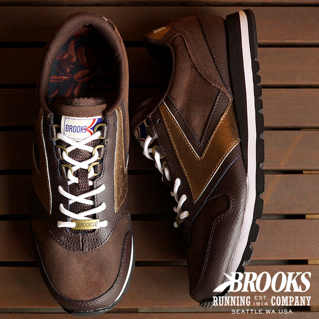 e91aecbb3df BROOKS Brooks sneakers shoes mens MNS HERITAGE CHARIOT heritage chariot  Coffeehouse Mocha Brown (1101781D-247 HO15)