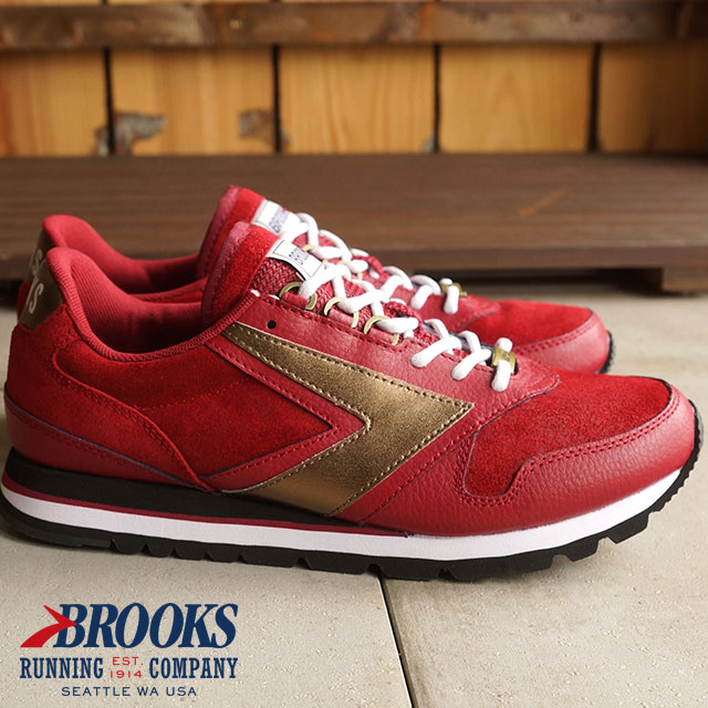 ba3df46cef8 BROOKS Brooks sneakers shoes men MNS HERITAGE CHARIOT heritage chariot  Coffeehouse Red Bean (1101781D-698 HO15) shoetime