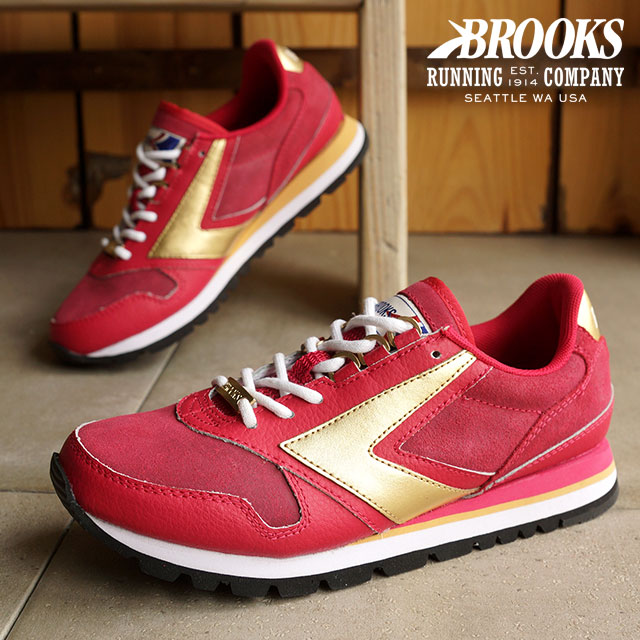 eb92f3462dfed BROOKS Brooks sneakers shoes Lady s women WMNS HERITAGE CHARIOT heritage  chariot Coffeehouse Red Bean (1201711B-698 HO15) shoetime