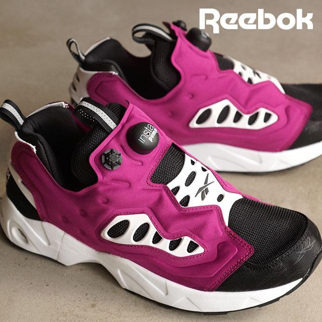 Reebok Reebok mens sneakers INSTAPUMP FURY ROAD insta pump fury road black   brazen Berry V66587