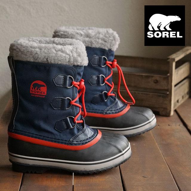 396f52682ce9 Sorrel snow boot kids SOREL YOOT PAC NYLON ユートパックナイロン COLLEGIATE NAVY SAIL  RED (NY1879-464 FW15)