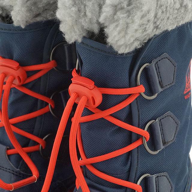 34b8c55b932 Sorrel snow boot kids SOREL YOOT PAC NYLON ユートパックナイロン COLLEGIATE NAVY SAIL  RED (NY1879-464 FW15)
