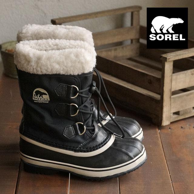 d256b7dd0fd SOREL Sorrel snow boot kids YOOT PAC NYLON ユートパックナイロン BLACK (NY1879-010 ...