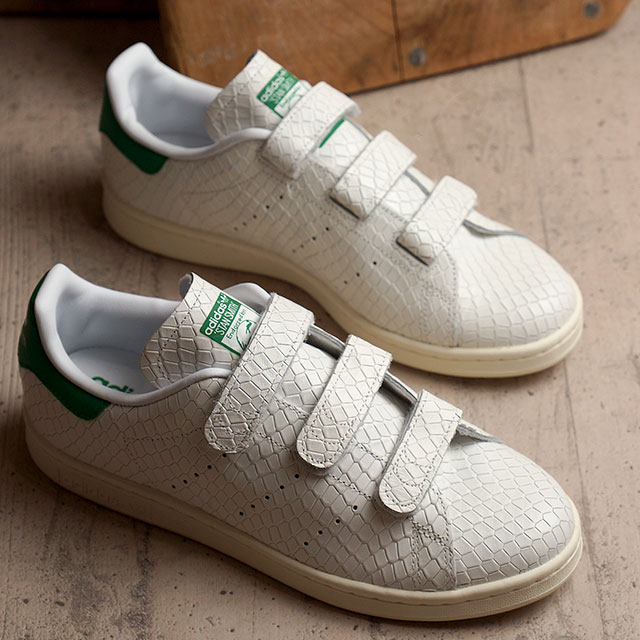 stan smith crocodile scratch