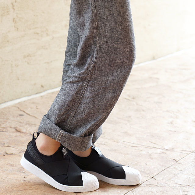 feda2f23722388 Adidas originals superstar slip-ons women adidas Originals Lady s Superstar  Slip On W core black   core black   running white shoes (S81337 SS19)
