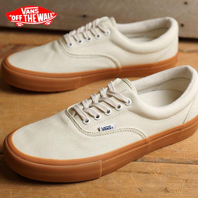 Vans gills pro VANS men gap Dis sneakers ERA PRO OFF WHITE/GUM (VN000VFBGX4  FW16) shoetime