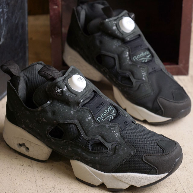 Reebok classic insta pump fury SP Reebok CLASSIC mens ladies sneakers  INSTAPUMP FURY SP BLACK COAL STEEL WHITE (AQ9803 FW16) d965e5bc5