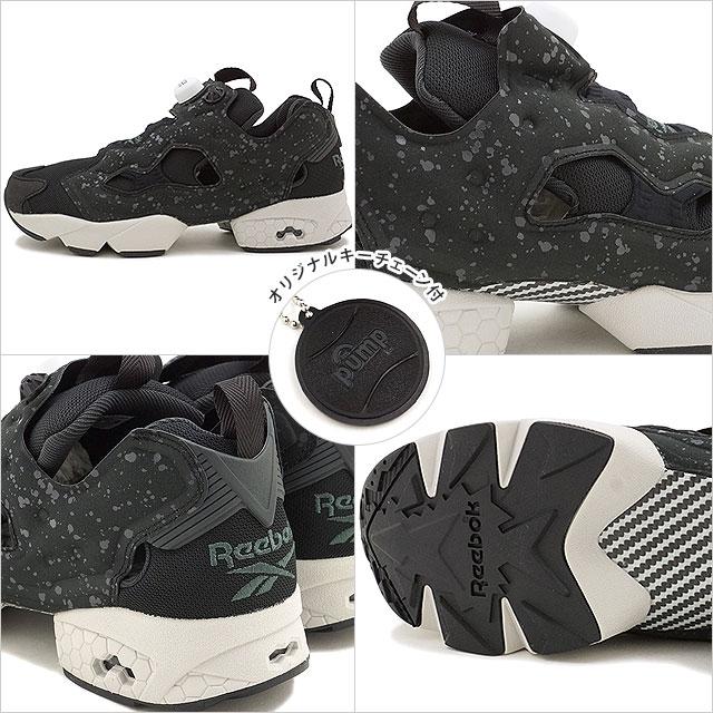 f021d71f672 Reebok classic insta pump fury SP Reebok CLASSIC mens ladies sneakers INSTAPUMP  FURY SP BLACK COAL STEEL WHITE (AQ9803 FW16)