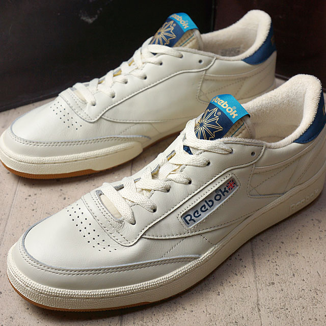d78c8bf06a0e2c Reebok classical music club C 85 nostalgic gum Reebok CLASSIC men gap Dis sneakers  CLUB C 85 RETRO GUM WHITE (AQ9844 FW16) shoetime