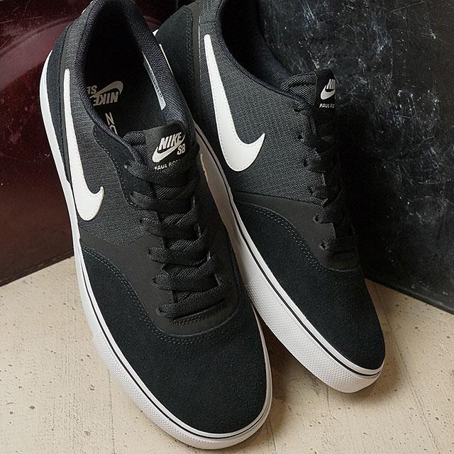 6ae2351fa533b2 Nike SB Paul Rodriguez 9 VR NIKE men SB PAUL RODRIGUEZ 9V black   white    gum light brown (819844-012 FW16)