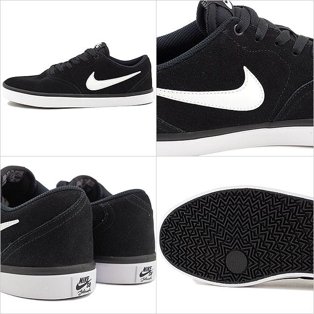 Nike SB check solar NIKE men CHECK SOLAR black white (843,895 001 FW16) shoetime