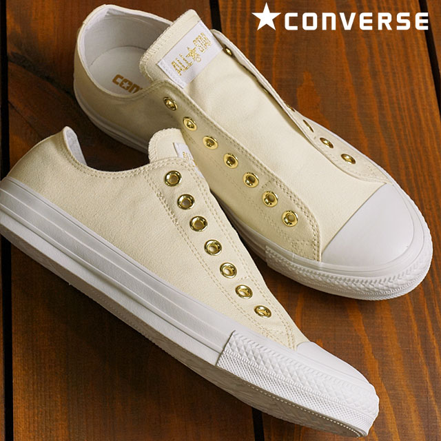 fe8f4f0442ee Converse all-stars slip 3 low-frequency cut CONVERSE ALL STAR SLIP III OX  white   gold men gap Dis slip-ons (32168469 FW16) shoetime