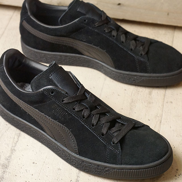 5384626c Puma Swede classic plus LFS PUMA mens Womens sneakers SUEDE CLASSIC+LFS  Black / Black / Black (356328-01 FW16)