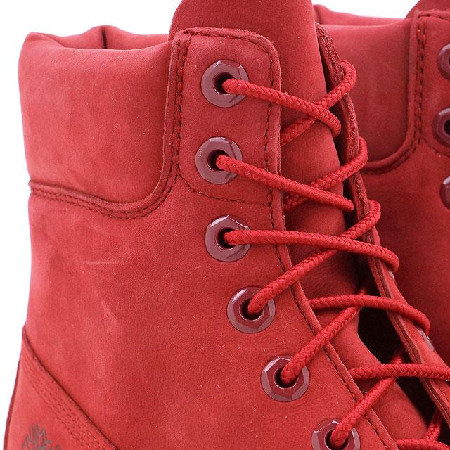 Timberland 6 Tommers Premium Støvlene Røde WF5nzu2H