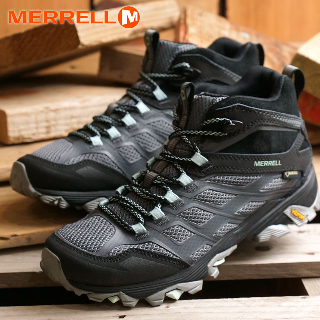 44adffab11d01 メレルレディースモアブ FST mid Gore-Tex MERRELL trekking shoes WMNS MOAB FST MID GORE  ...