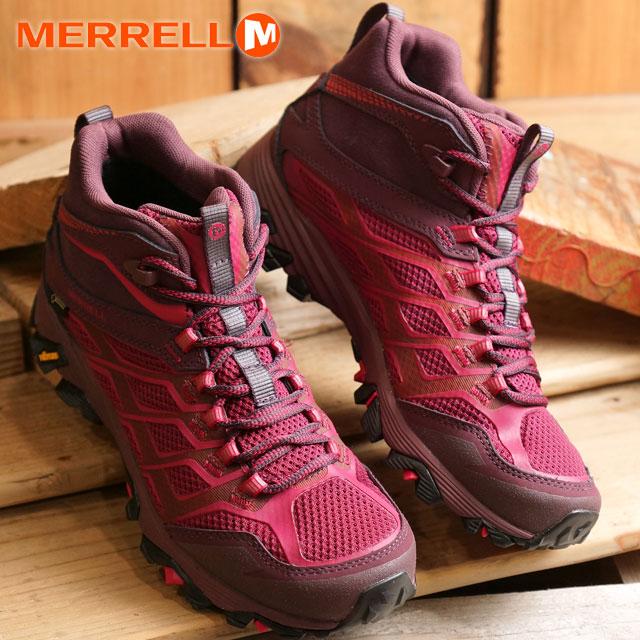 157fd7584cb36 Merrell Women's Moab FST mid Gore-Tex MERRELL trekking shoes WMNS MOAB FST MID  GORE ...