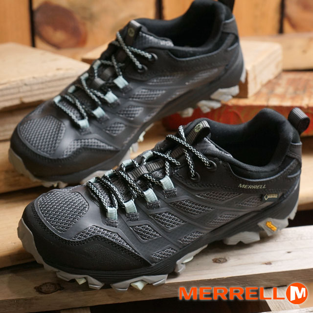 c7dbbbbefd451 メレルモアブ FST Gore-Tex trekking shoes MERRELL WMNS MOAB FST GORE-TEX GRANITE  shoes ...