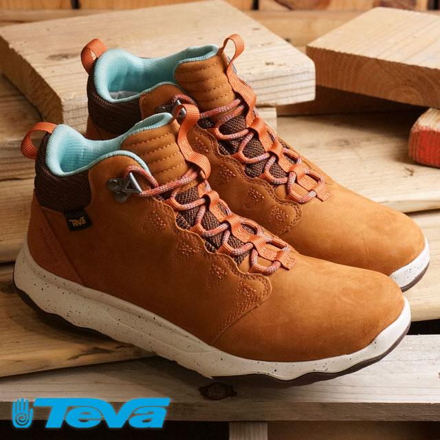 0a0cee125 Teva Lady s arrow Wood Lux mid waterproof Teva waterproofing specifications  sneakers WMNS Arrowood Lux Mid WP COGNAC (1013645-COG FW16) shoetime