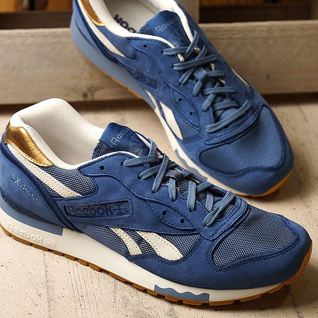 c4c240b7e Reebok classics men's women's sneaker LX8500 metallic Reebok CLASSIC LX8500  MET BLUE (V67560) ...