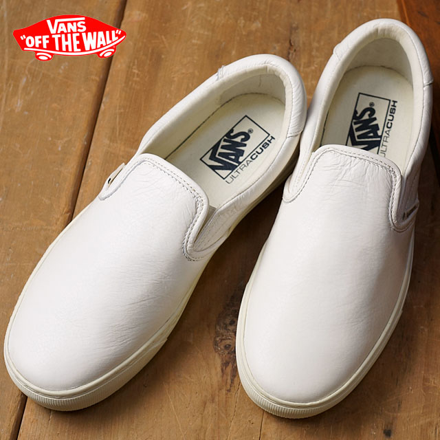 c15a783458 Vans slip-on 59 cup VANS men gap Dis sneakers slip-ons CLASSIC+ SLIP-ON 59  CUP (LEATHER) WHISPER WHITE (VN0A2Z62GS7 FW16) shoetime