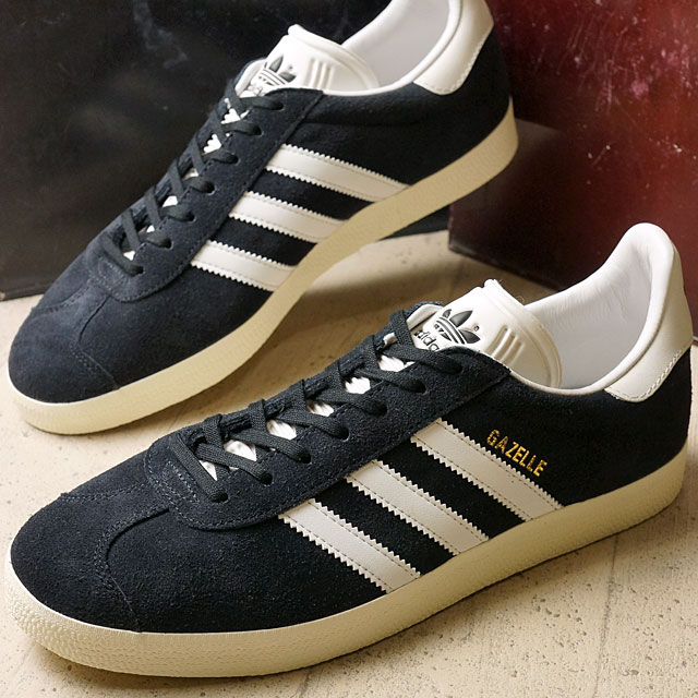 Adidas originals Gazelle adidas Originals men s women s GAZELLE core black    white vintage S15   gold met (BB5491 FW16) b72ef660e