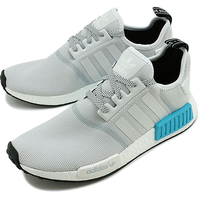 6f48f36d7277 adidas Originals adidas originals NMD R1 NMD R1 R White r white   bright  cyan Nomad nmd (S31511 FW16)