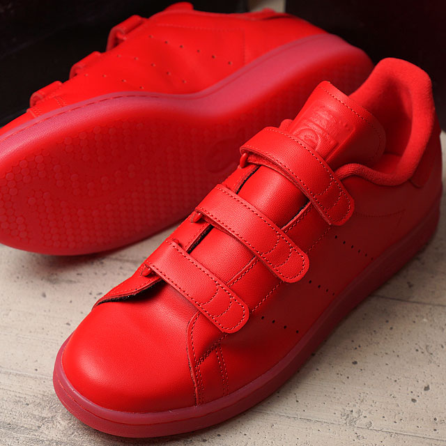 Adidas originals Stan Smith comfort adidas Originals STAN SMITH CF mens ladies Velcro (S80043 FW16)