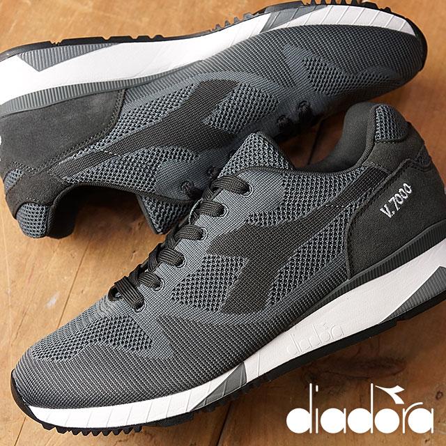 diadorasupotsuuea DIADORA人分歧D运动鞋V7000 WEAVE Steel Gray(170476-5070 FW16Q3)
