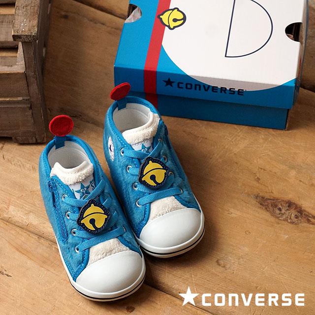 fcecf10f6 Converse baby all-stars N Doraemon ST Z キッズインファントファーストシューズ CONVERSE BABY  ALL STAR N DORAEMON ST Z blue (32711866 FW16) shoetime