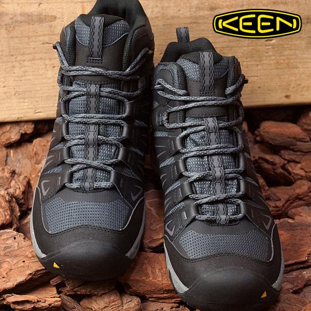 03298169843 Kean men Oak Ridge mid waterproof trekking shoes KEEN MEN Oakridge Mid WP  Magnet/Gargoyle shoes (1015307 FW16)