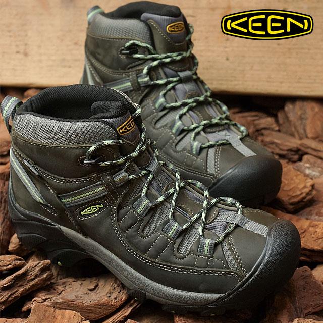 2e50a677fcf KEEN Kean Lady's WOMEN Targhee two mid waterproof trekking shoes Targhee II  Mid WP Raven/Opaline shoes (1014997 FW17)