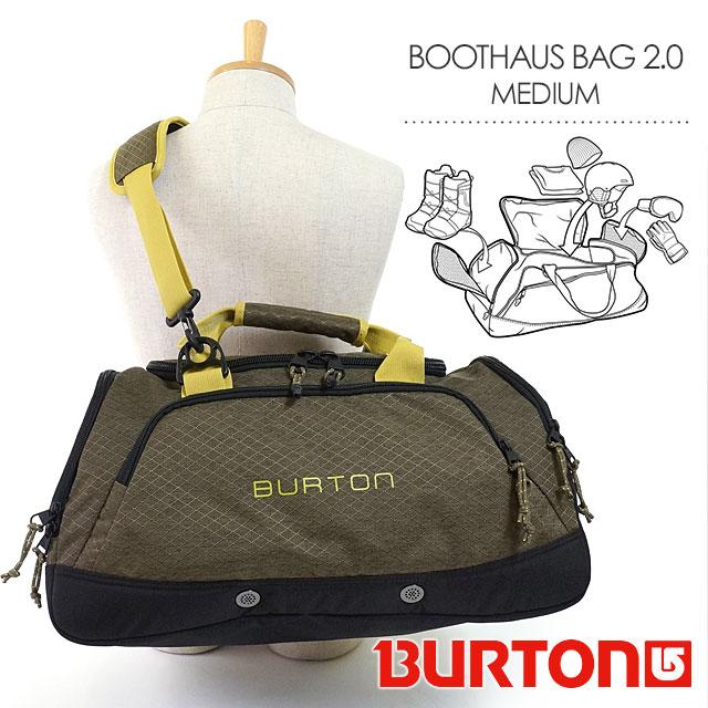 8b4263ae76 Burton boot Haus bag 2.0 medium BURTON Duffle Bag shoulder bag BOOTHAUS BAG  2.0 MEDIUM 35L Jungle Heather Diamond Ripstop (110351 FW16)