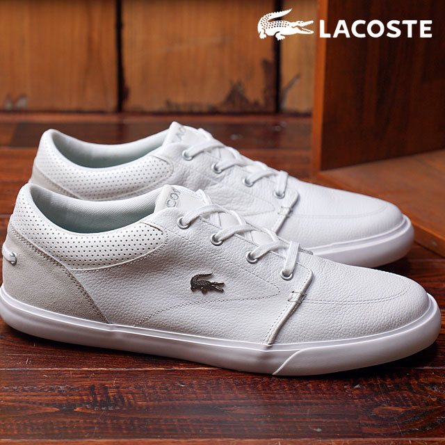 bca387cb16 Lacoste Bayliss 316 1 LACOSTE mens sneakers BAYLISS 316 1 WHT/WHT (MZK090-  ...