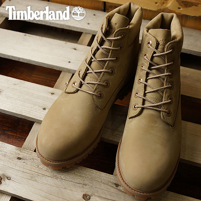 d9f535baee88 Timberland Timberland boots Lady s-adaptive youth standard 6 inch Premium  Waterproof Boot 6 inches premium waterproof boots Tan Nubuck (A1730 FW16)  shoetime