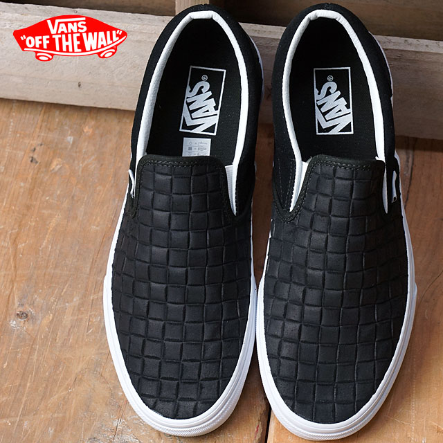 0dca22035dcc47 Vans classical music slip-on VANS men gap Dis sneakers slip-ons CLASSIC  CLASSIC SLIP-ON (SUEDE CHECKERS) BLACK (VN0004MPJRK FW16) shoetime