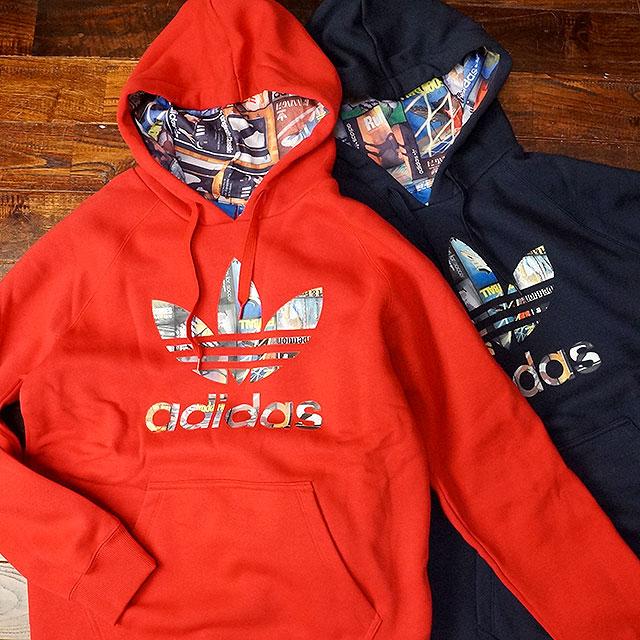 Adidas Originals Herren Sweater TREFOIL HOODIE DT7970