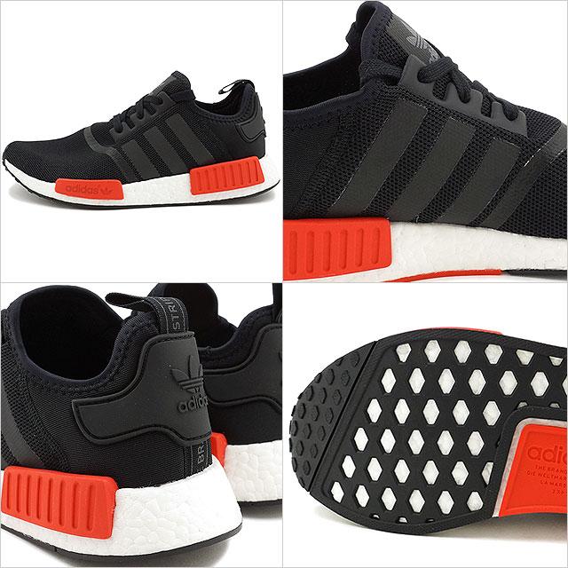 6aa1ded735040 NMD R1 adidas Originals Adidas originals NMD R1 core black   core black  R  white nomad nmd (BB1969 FW16) shoetime