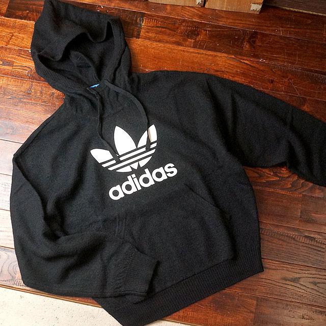 b08ed2bfb9d Adidas originals apparel trefoil Hoodie wool adidas Originals Women s  relaxed fit Hoodie TREFOIL HOODIE WOOL (AY5235 FW16)