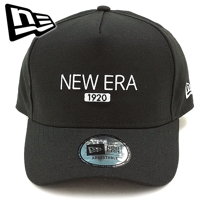 New era 1920 wool Cap NEWERA hats 9 FORTY D-Frame CAP black   snow white  (11322554 FW16) df43c6d003f