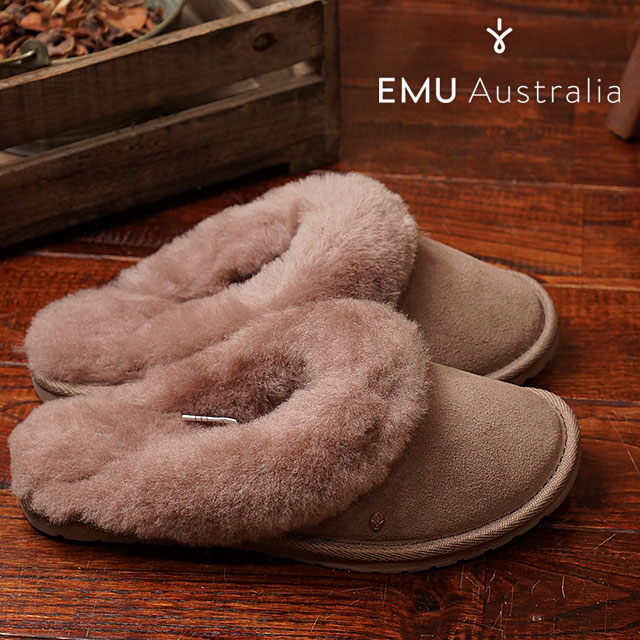 8042e04f54 EMU Jolie EMU Womens Sheepskin slippers Sandals Jolie mushrooms (W10015  FW16) ...