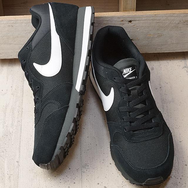 b39633af415b7 NIKE Nike sneakers MD RUNNER 2 Nike mid runner 2 black   white   アンスラサイト ( 749
