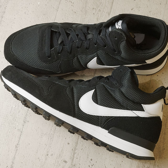 pretty nice 5de91 4d5cc NIKE Nike sneakers INTERNATIONALIST MID Nike internationalist mid black    white   White   Wolf grey ...
