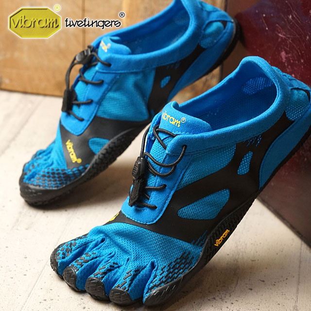 【即納】Vibram FiveFingers ビブラムファイブフィンガーズ メンズ MEN KSO EVO Blue/Black ビブラム ファイブフィンガーズ 5本指シューズ ベアフット 靴 (16M0701)