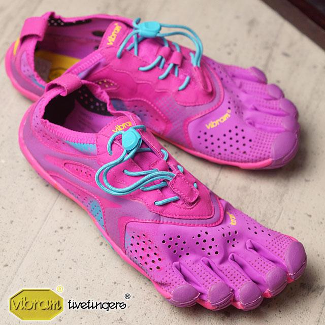 Vibram FiveFingers ビブラムファイブフィンガーズ レディース WMN V-Run Purple/Blue ビブラム ファイブフィンガーズ 5本指シューズ ベアフット 靴 (16W3107)【コンビニ受取対応商品】