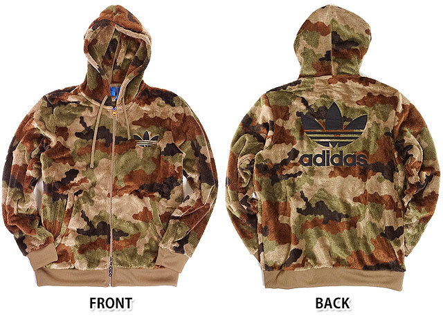 Adidas originals apparel Camo Sherpa j jacket adidas Originals mens Womens Hoodie you CAMO SHERPA JACKET (AY8621 FW16)