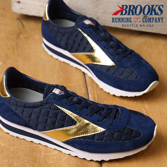 Brooks heritage Vanguard BROOKS HERITAGE Womens sneakers Vanguard Peacoat  Navy/Gold (1201591B-434 FW16)
