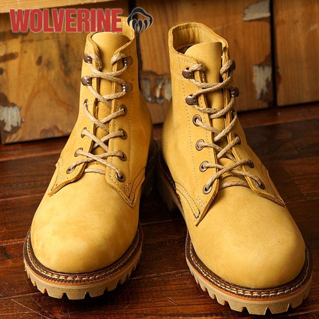 【在庫限り】ウルヴァリン 1000マイル ブーツ デュヴァル WOLVERINE ウルバリン メンズ ワークブーツ 1000Mile Boots DUVALL Dワイズ Honey Nubuck 靴 (W40198 FW16)【ts】【コンビニ受取対応商品】